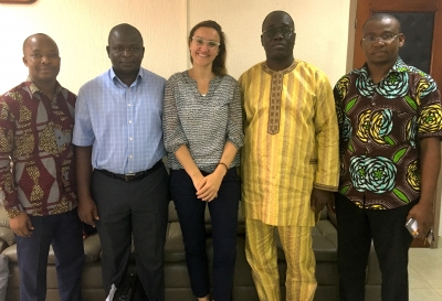 Adelante supports Benin to integrate climate aspect to national budget